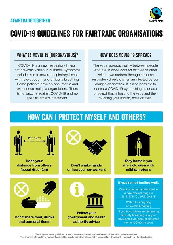 Fairtrade COVID-19 Guidelines